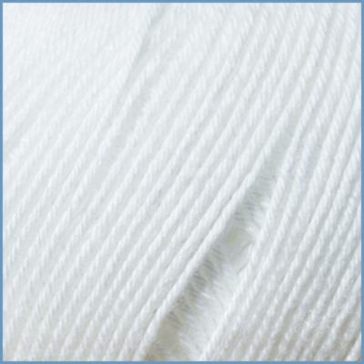 Пряжа для вязания Valencia Vista, 001 цвет, 50% хлопок, 50% вискоза бук+вискоза эвкалипт (ProModal®)