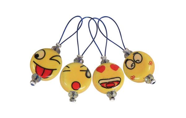 11251 Маркеры петель  ZOONI Smileys KnitPro