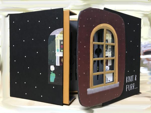 """Подарочный набор съемных спиц KnitPro """"Knit & Purr"""""""
