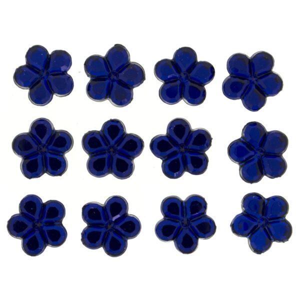 3823 Украшение. Королевские голубые цветы | Dress it up США