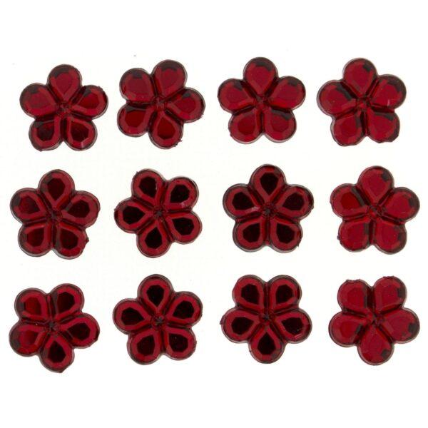 3828 Украшение. Красные цветы | Dress it up США