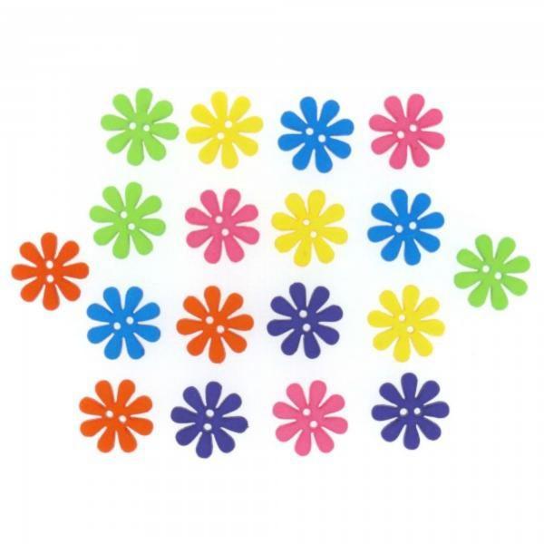 6941 Декоративные пуговицы. Ретро - цветы  | Dress it up США