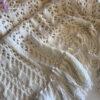 Женский ажурный кардиган молочного цвета от Wisteria