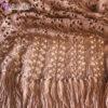 Женский ажурный кардиган цвета капучино от Wisteria