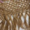Ажурный сарафан ручной работы с золотым люрексом от Wisteria
