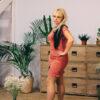 Женский костюм пудровый от Wisteria