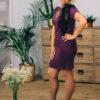 Женский костюм фиолетовый от Wisteria