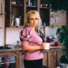 Женская кофточка розовая с кружевом от Wisteria