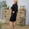 Платье черное с люрексом от Wisteria
