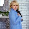 Кардиган нежно-голубой с пайеткой от Wisteria 2