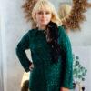Свитер с капюшоном изумрудного цвета от Wisteria 6