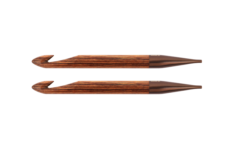31273 Крючок односторонний тунисский съемный 12.00 мм Ginger KnitPro