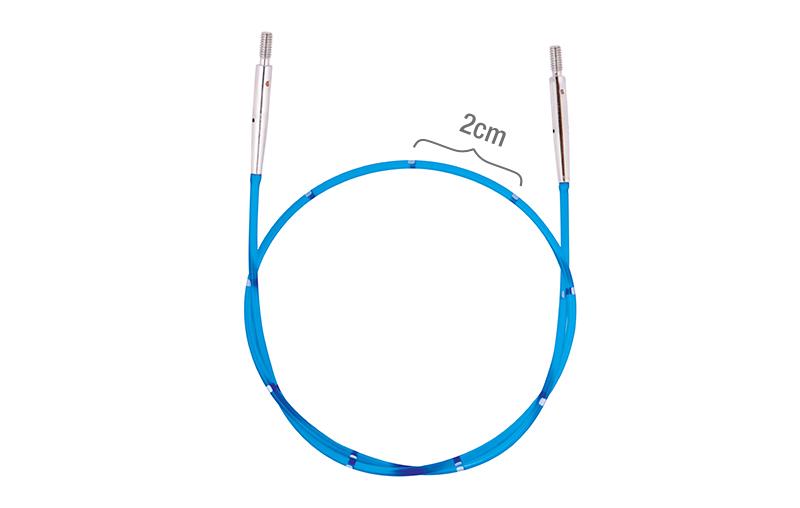 """42173 Леска 35 см для создания круговых спиц длиной 60 см/24"""" IC KnitPro"""