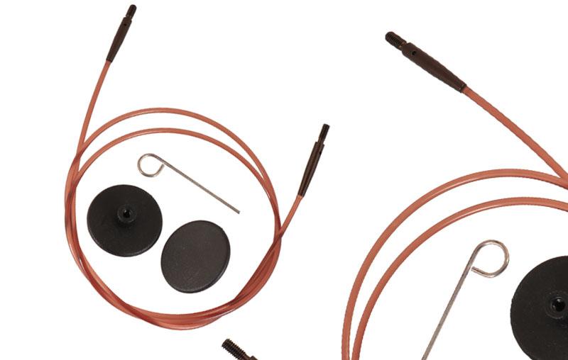 """31291 Леска 20 см для создания круговых спиц длиной 40 см/16"""" IC KnitPro"""