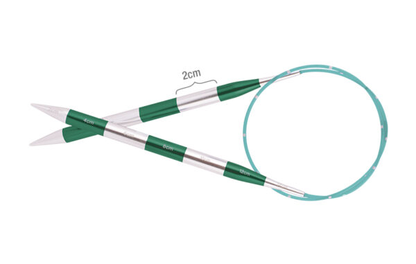 42099 Спицы круговые 12.00 мм - 80 см Smartstix KnitPro