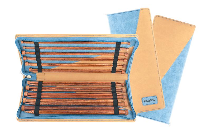 31285 Набор деревянных прямых спиц 35 см  Ginger KnitPro