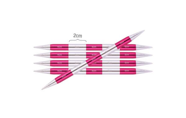 42013 Спицы носочные 6.00 мм - 14 см Smartstix KnitPro