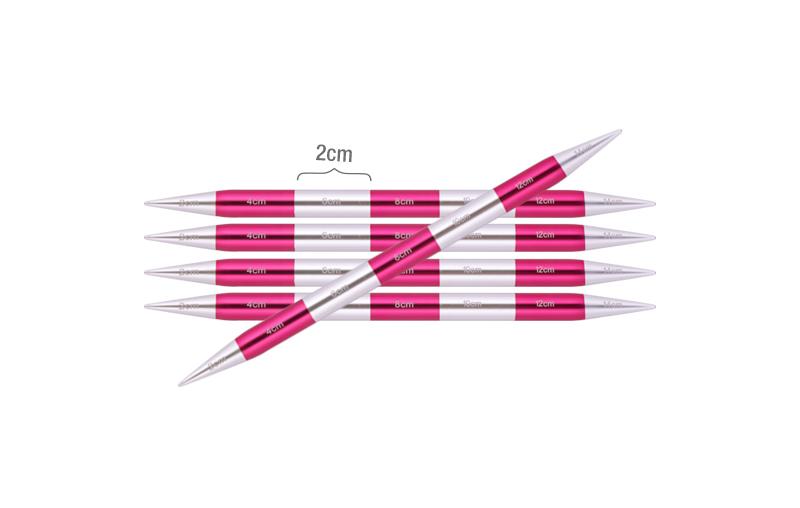 42010 Спицы носочные 4.50 мм - 14 см Smartstix KnitPro