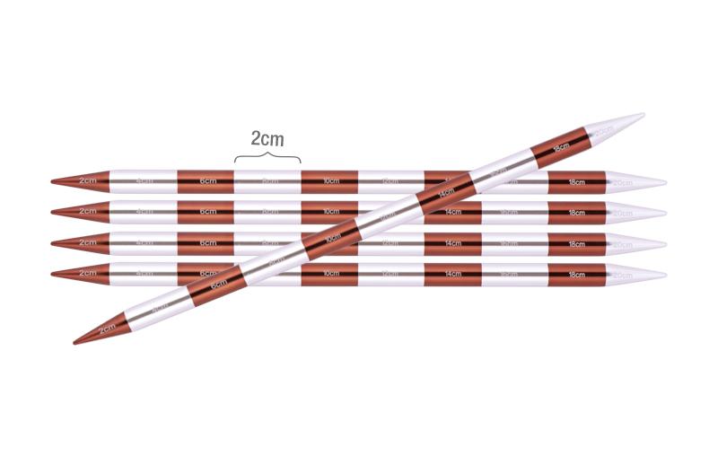 42034 Спицы носочные 6.50 мм - 20 см Smartstix KnitPro