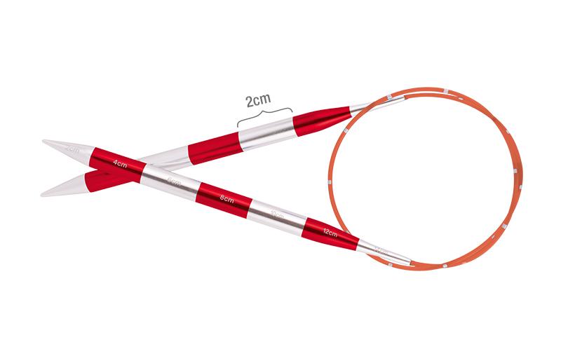 42053 Спицы круговые 6.00 мм - 40 см Smartstix KnitPro
