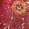 Шапка красная с мехом песца от Wisteria 5