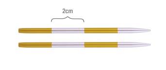 42143 Спицы съемные короткие 3.50 мм Smartstix KnitPro