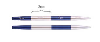 42146 Спицы съемные короткие 4.50 мм Smartstix KnitPro