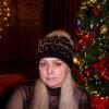 Черная шапка с мехом енота от Wisteria