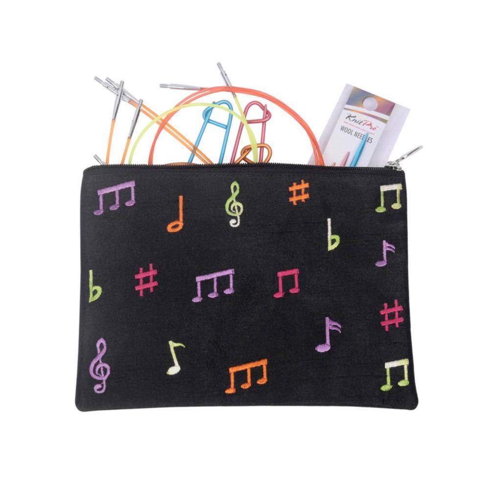 47411 Подарочный набор съемных круговых спиц Melodies of Life Zing KnitPro 7