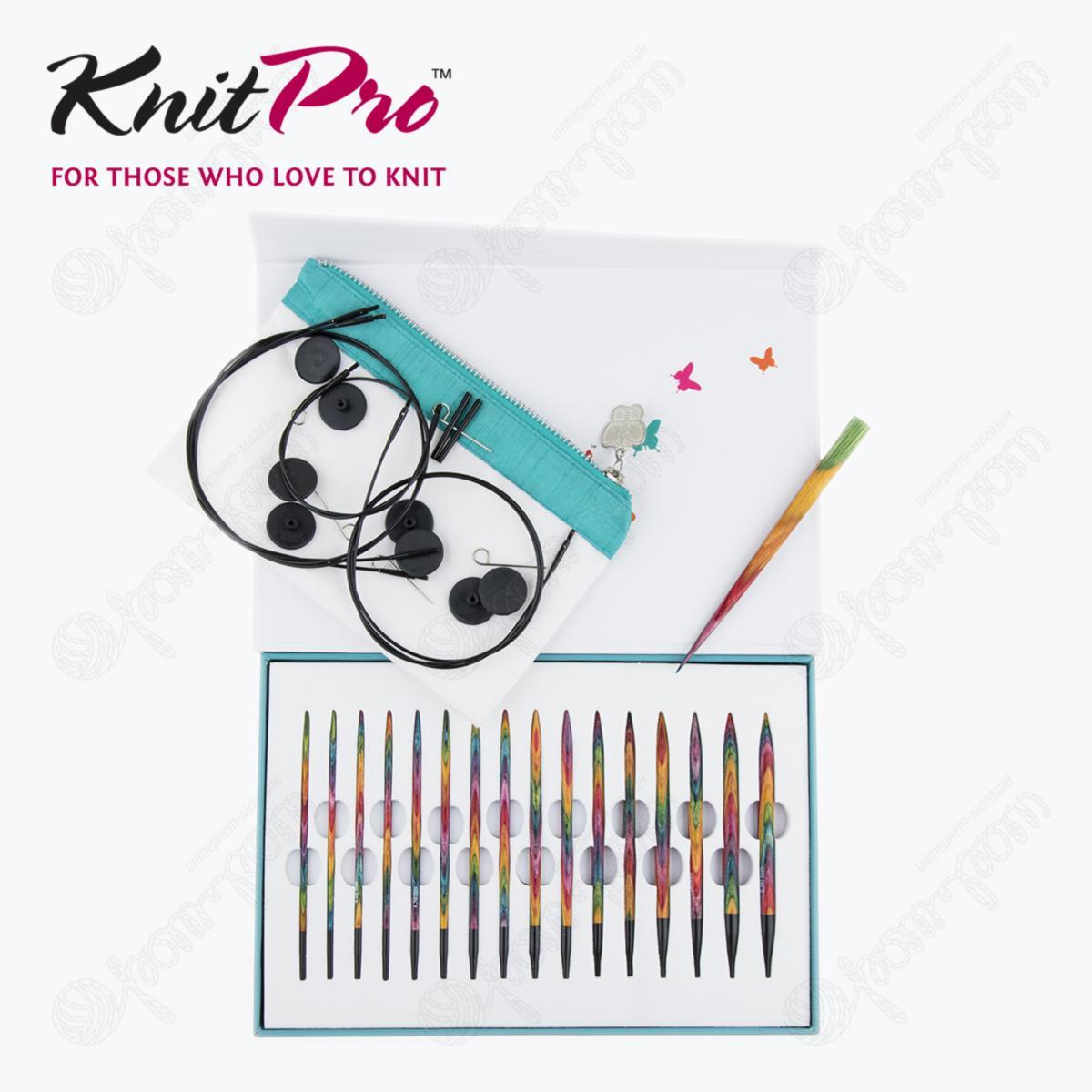 Подарочный набор спиц KnitPro «Colours of Life» 20636 12