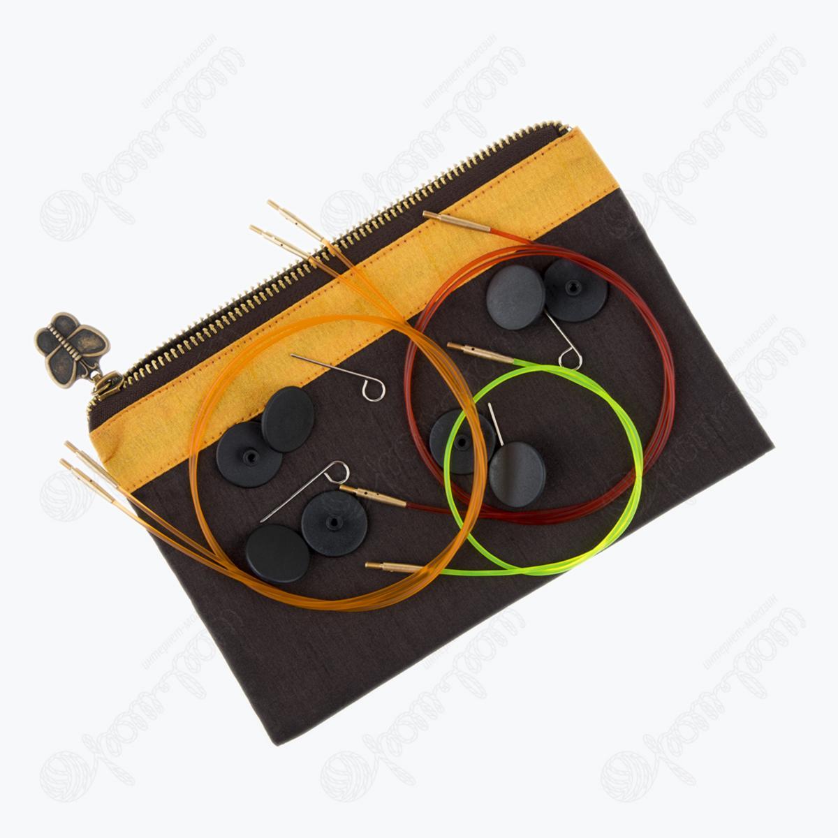 Подарочный набор съемных круговых спиц KnitPro «The Golden Light» 20635 8
