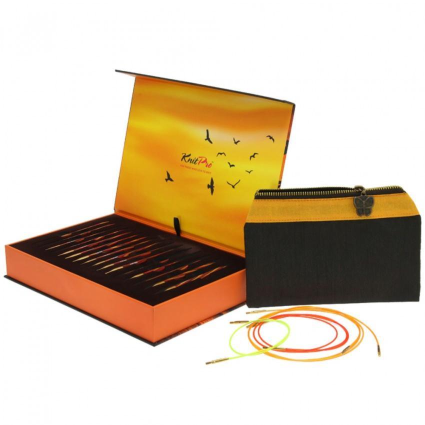 Подарочный набор съемных круговых спиц KnitPro «The Golden Light» 20635 10