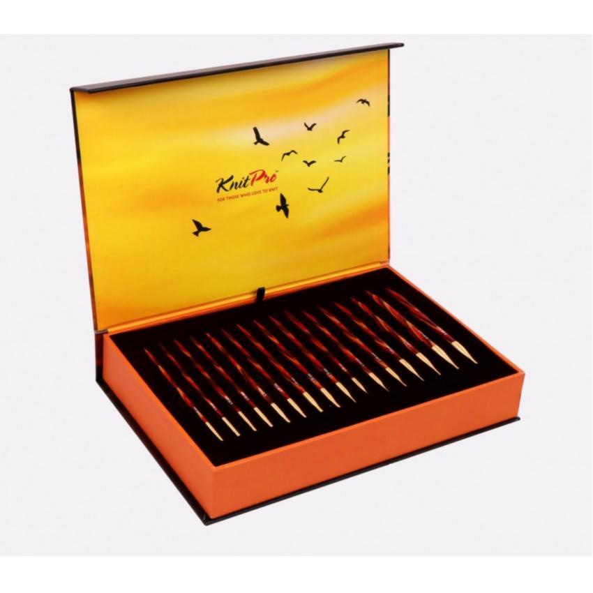 Подарочный набор съемных круговых спиц KnitPro «The Golden Light» 20635 12