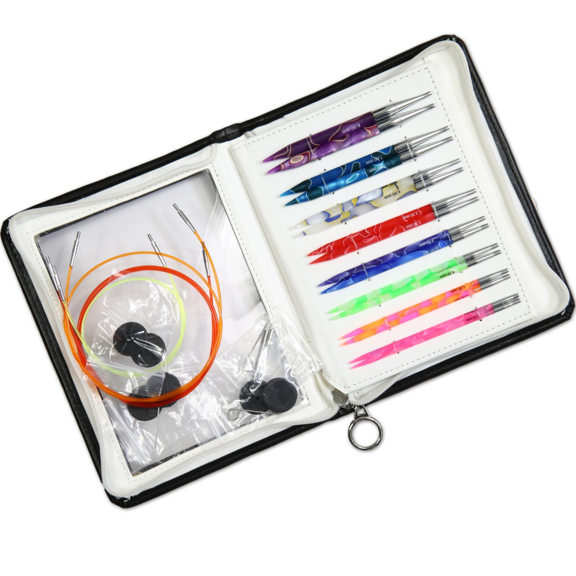 71506 Набор съемных спиц Marblz Deluxe KnitPro 3
