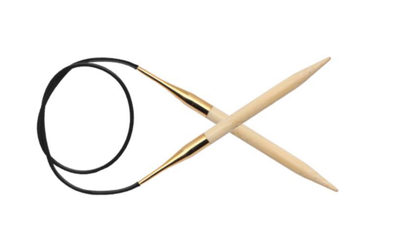 Спицы круговые 60 см Bamboo KnitPro, 22236, 10.00 мм