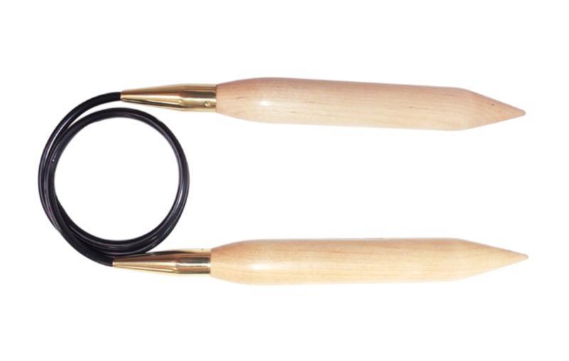 Спицы круговые 150 см Jumbo Birch KnitPro, 35375, 25.00 мм