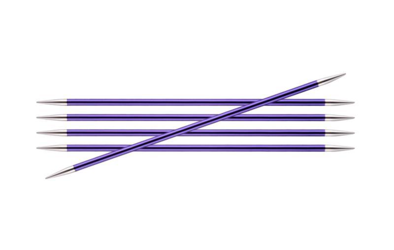 Спицы носочные 15 см Zing KnitPro, 47008, 3.75 мм