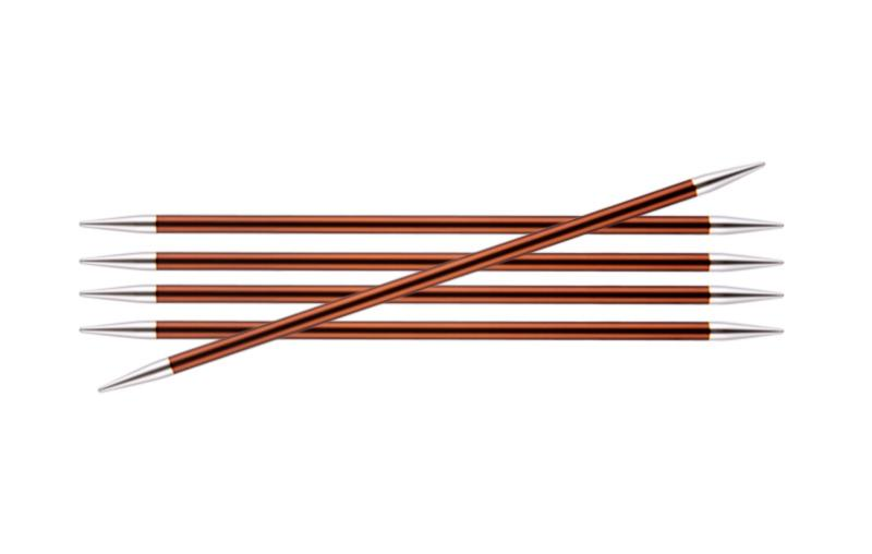 Спицы носочные 15 см Zing KnitPro, 47012, 5.50 мм