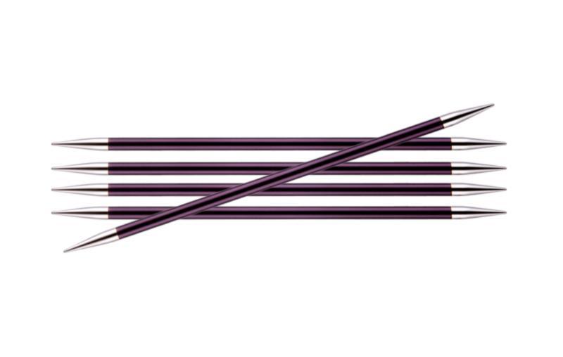 Спицы носочные 20 см Zing KnitPro, 47043, 6.00 мм