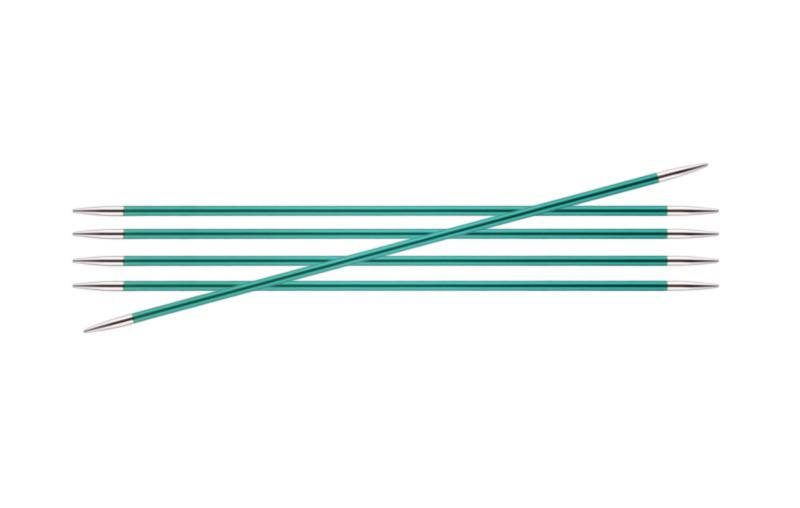 Спицы носочные 20 см Zing KnitPro, 47046, 8.00 мм