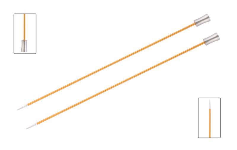 Спицы прямые 25 см Zing KnitPro, 47232, 2.25 мм