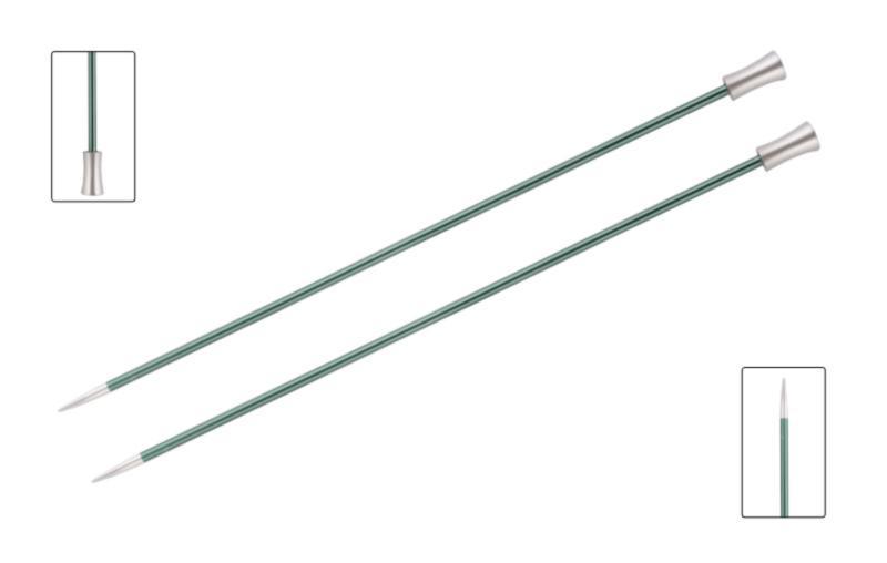 Спицы прямые 25 см Zing KnitPro, 47235, 3.00 мм
