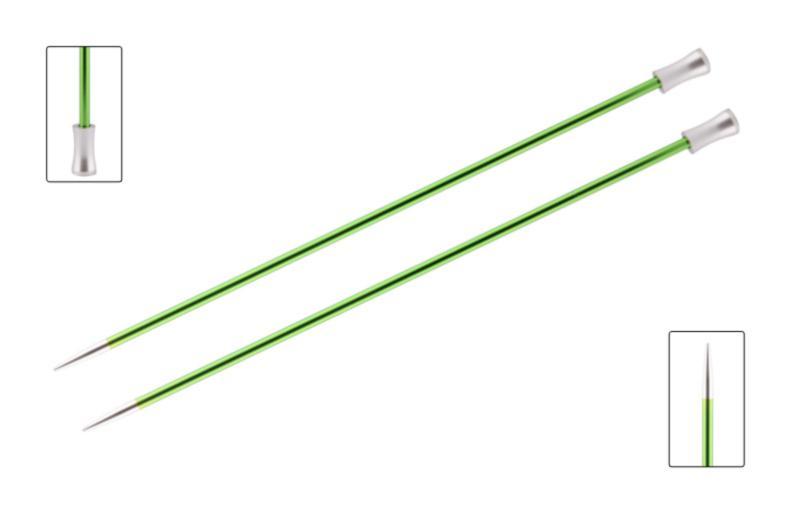 Спицы прямые 25 см Zing KnitPro, 47237, 3.50 мм