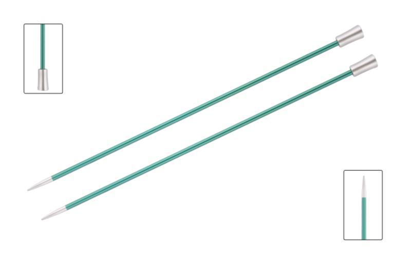 Спицы прямые 25 см Zing KnitPro, 47246, 8.00 мм