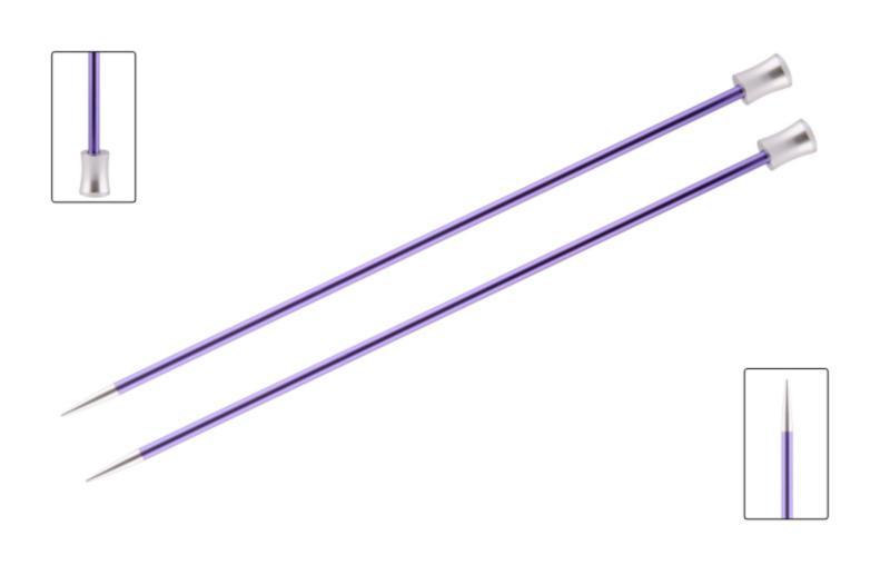 Спицы прямые 30 см Zing KnitPro, 47268, 3.75 мм