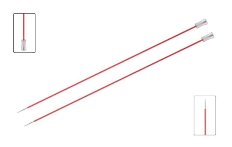 Спицы прямые 35 см Zing KnitPro, 47304, 6.50 мм
