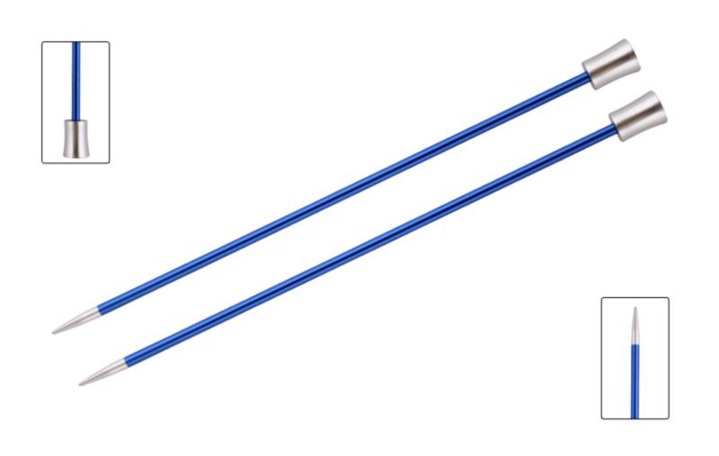 Спицы прямые 40 см Zing KnitPro, 47329, 4.00 мм