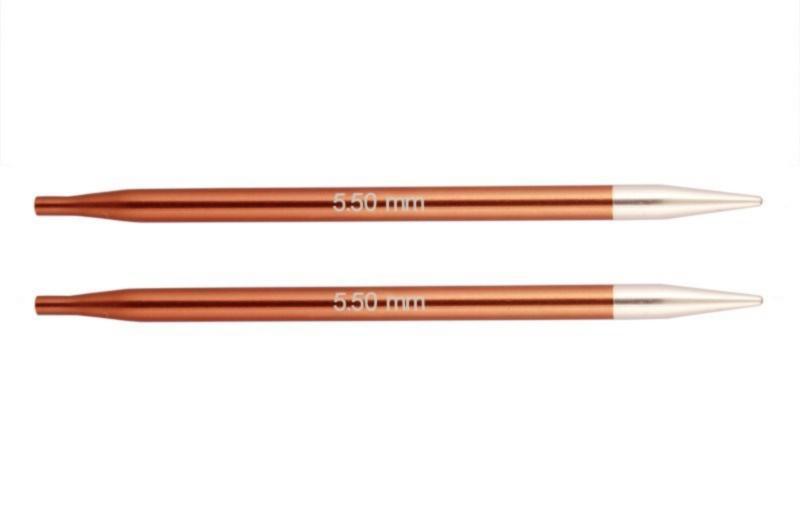 Спицы съемные короткие Zing KnitPro, 47526, 5.50 мм