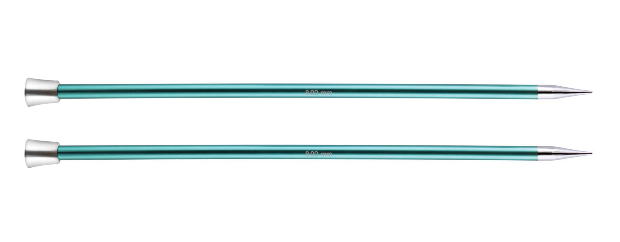 Спицы прямые 40 см Zing KnitPro, 47336, 8.00 мм