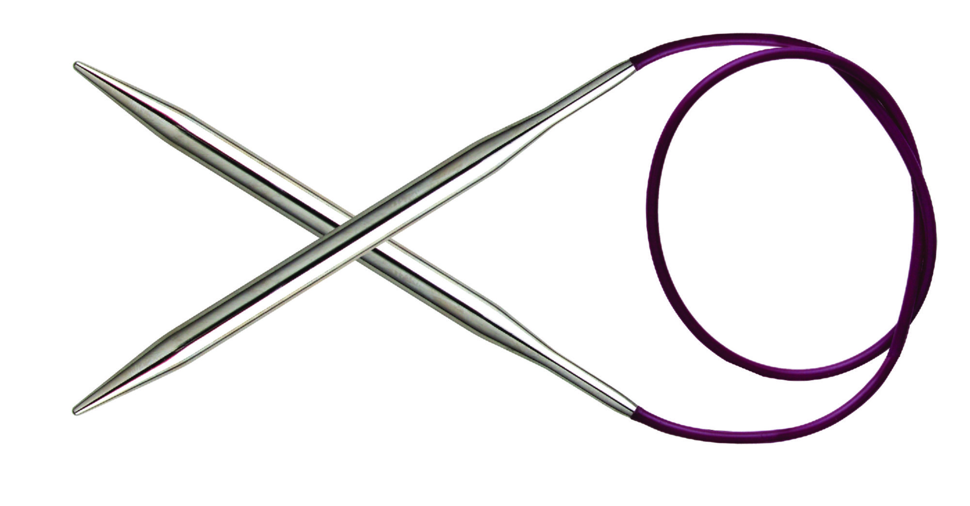 Спицы круговые 80 см Nova Metal KnitPro, 11341, 6.00 мм